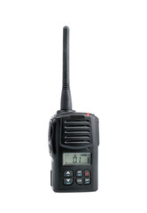 Radio Transceiver on White background