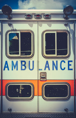 Vintage Retro Ambulance