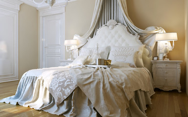 Bedrooms Baroque style