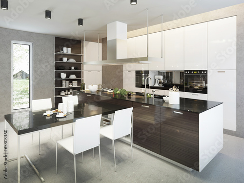 canvas print picture Kitchen contemporary style