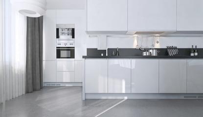 Dining kitchen, Scandinavian style