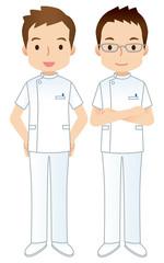男性 看護師 介護士