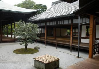 Garden in a Temple