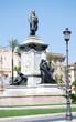 Постер, плакат: Monument to Camillo Benso di Cavour in Piazza Cavour Rome