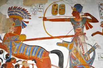 affresco egizio