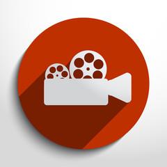 Vector camera web icon