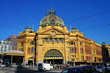 Leinwandbild Motiv Flinders Street Station (Melbourne, Australia)