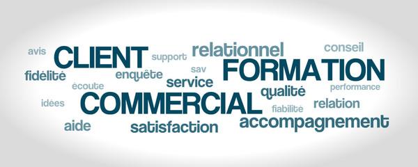Nuage de Mot : Client Formation Commercial