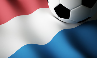Dutch flag, football