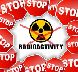 Stop radioactivity