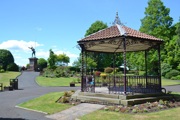 Bridgnorth bandstand