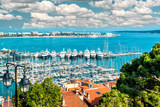 Cannes port, France