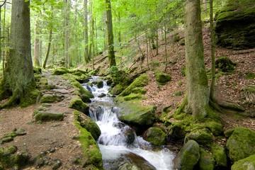 Gertelbach Waterfalls