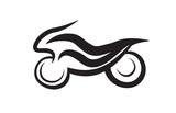 Fototapety motorbike symbol