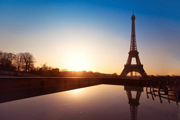 beautiful view of Paris, France