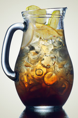 Jug of ice tea