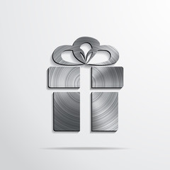 Vector gift web icon