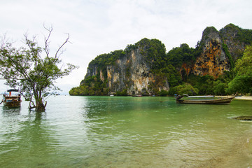 North part of the Railay beach