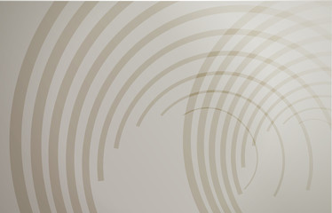 brown circular wave lines graphic illustration