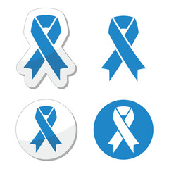 Blue ribbon - drunk driving, child abuse, anti-tobacco awareness