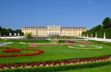 Schönbrunn Castle in Vienna, Austria