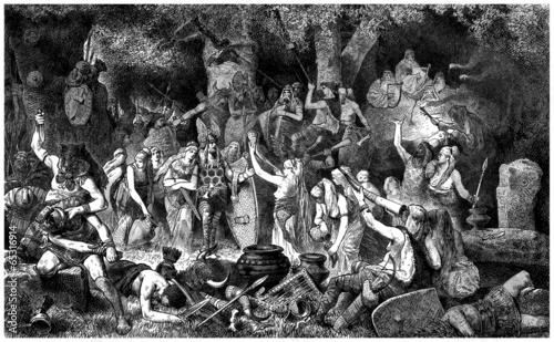 Victory Celebration : ancient Germans - Antiquity - 65316914