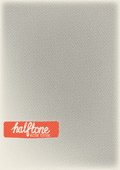 Vector Halftone Pattern Background