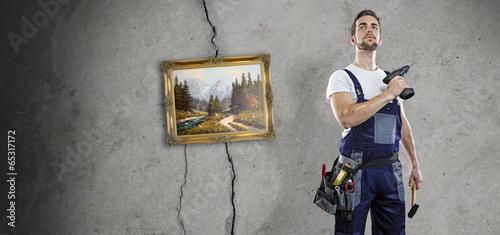 talentfreier handwerker - 65317172
