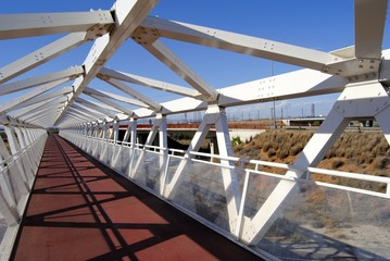 Puente carril para bici