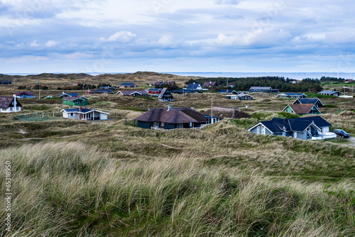 Foto op Canvas Heuvel Surroundings of Hvide Sande