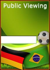 Public Viewing FiFa WM 2014