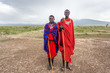 Two young Maasai live in Maasai Village - 65320313