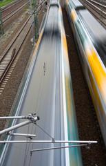 Rasende Züge