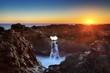 Le Gouffre au crépuscule, La Réunion