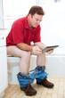 Bathroom Toilet Reading