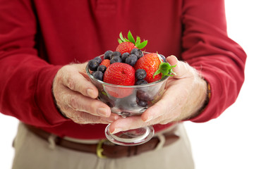 Bowl of Healthy Berries