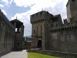 Castle, Bellinzona, Switzerland