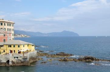quartier de Boccadasse à Gênes (Italie)