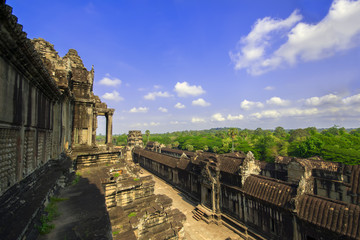 View from Angkor Wat.
