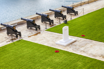The Saluting Battery in Malta