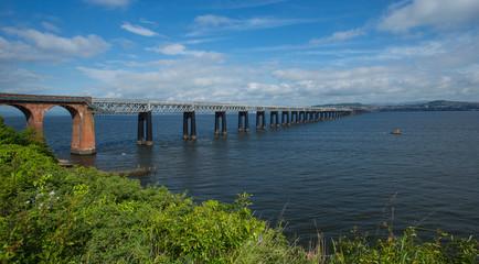 Tay Rail Bridge, Dundee, Scotland