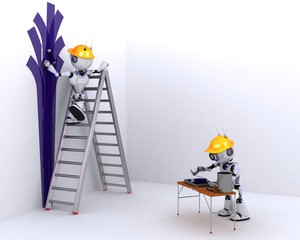 Robot painter and decorator