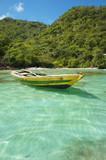 Haitian Fishing Boat: An old fishing boat near Labadee, Haiti