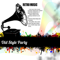 Old Style Party poster
