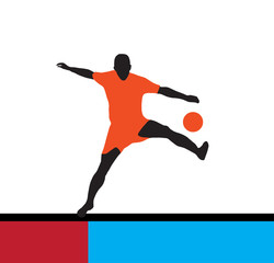 Soccer Action Player