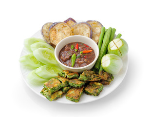 Chili paste thai style  ( healthy food )