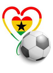 Fußball Ghana 2014