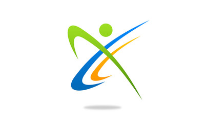 Sport Fitness Business Corporate  logo design