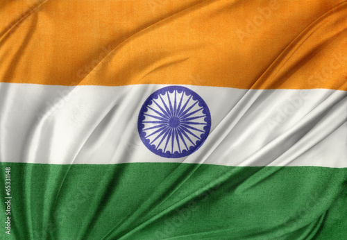 Poster Indian flag