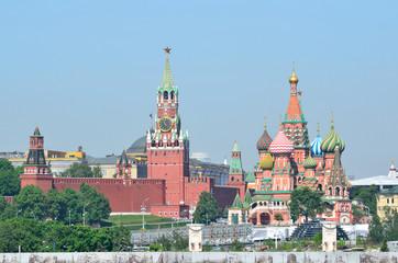 Москва, Кремль. собор Василия Блаженного